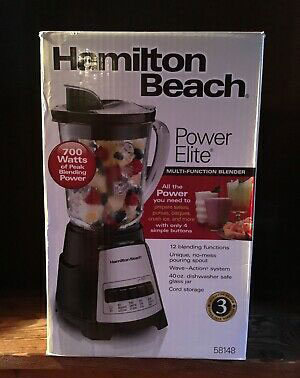 Hamilton Beach Power Elite Electric Blender